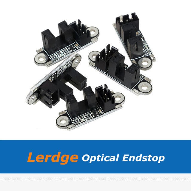10pcs/Lot 3D Printer Optical Endstop, Photoelectric Light Control Limit Switch For Lerdge Board