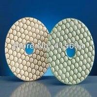 5pcs Lot Granite Polishing Pads 4 100mm And 2 3 Dry Polishing Pads For Marble Granite