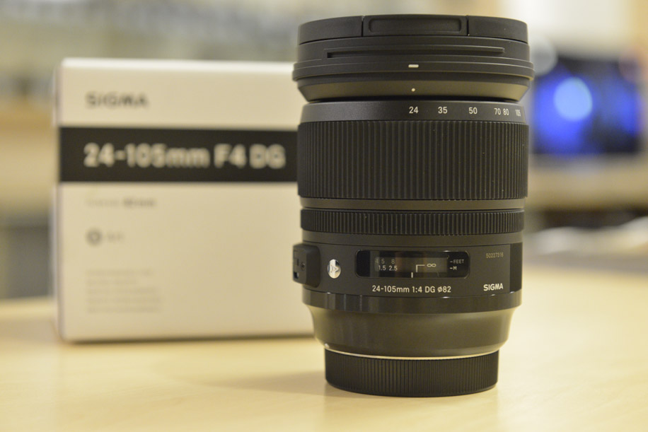 New Sigma Art 24-105mm F/4 DG OS HSM Lens For Canon объектив sigma af 24 105mm f 4 dg os hsm canon ef