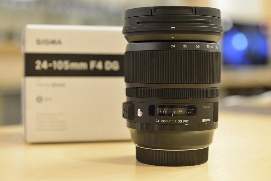 New Sigma Art 24-105mm F/4 DG OS HSM Lens For Canon sigma af 20mm f 1 4 dg hsm art canon черный