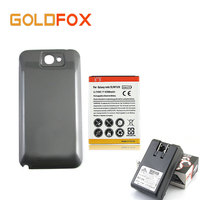 High Capacity 6500mAh Extended Replacement Phone Battery For Samsung Galaxy Note 2 II N7100 Battery With