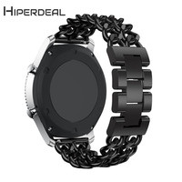 HIPERDEAL New Metal Chain Style Bracelet Smart Watch Band Strap For Samsung Gear S3 18Jan08 Drop