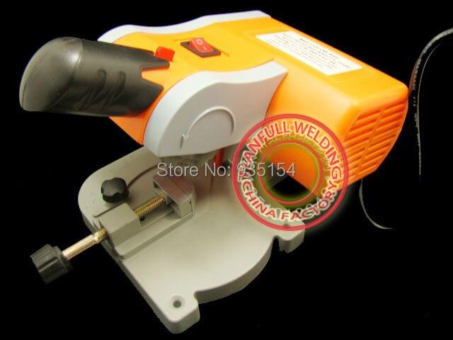 Mini cut off saw / Mitre Saw / Mini saw, 7800rpm cut ferrous metals non-ferrous metals wood plastic non ferrous alloys