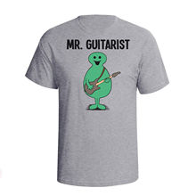 Mr Guitarist GUITAR Mens T-Shirt Christmas Fathers Day Gift Birthday Music Mans Unique Cotton Short Sleeves free shipping