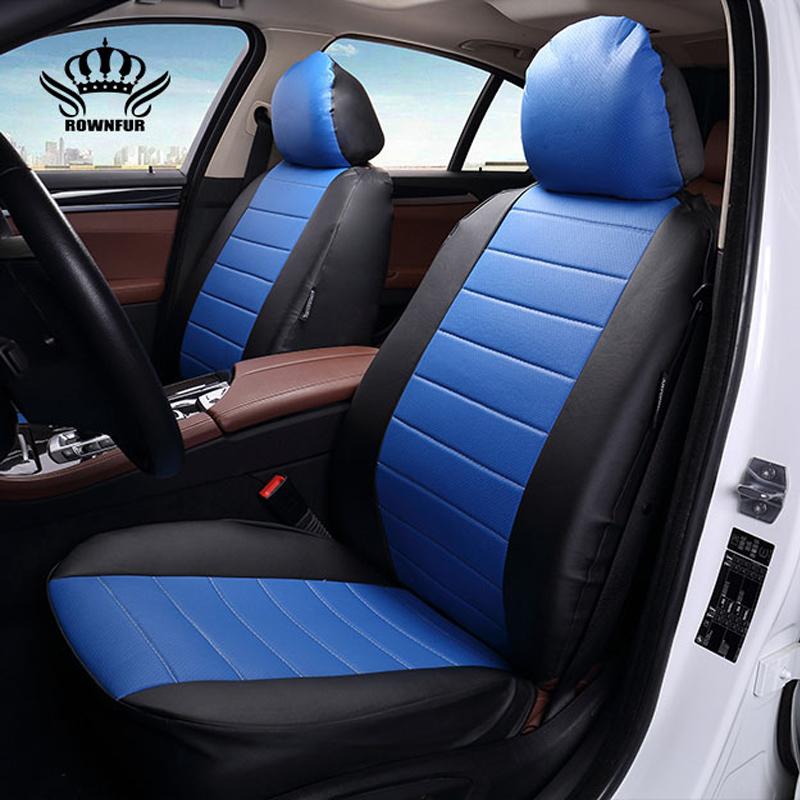 Prix pour Nouveau Luxe PU En Cuir Auto Housses de Siège De Voiture Automobile pour KIA RIO III de 2011 année