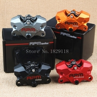 RPM motor Motorcycle Brake Pumps Big Crab Calipers Pumps Forged 34mm Two Pistons For 1198/S/R/Bayliss Panigale Streetfighter/S