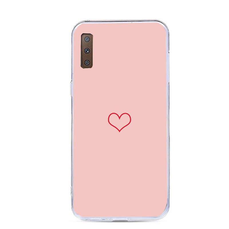 Flor caso para coque samsung galaxy j5 a5 2017 a520 a7 a8 plus 2018 s7 borda s8 s9 mais nota 9 macio silicone telefone capa