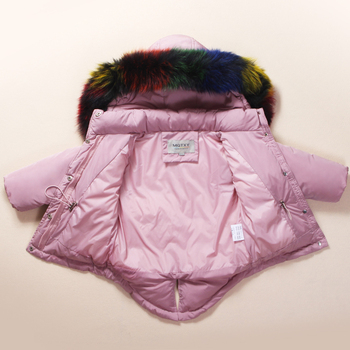 f89825dd1a59 Russian Winter children clothing sets Warm duck down jacket for baby ...