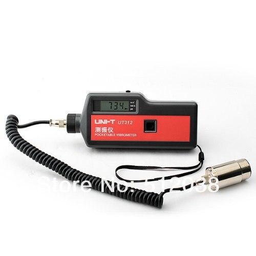 <font><b>UNI-T</b></font> UT312 <font><b>Vibration</b></font> Meter <font><b>Tester</b></font> Gauge Vibrometer Acceleration Velocity Displace
