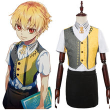 Permainan NASIB Grand Order Fgo Archer Gilgamesh Cosplay Kostum Full Set Halliween Pesta Karnaval Kostum Cosplay(China)