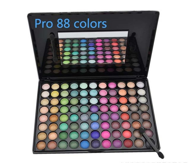 Hot  !!!!  Free shipping Pro 88colors Warm Color Eye Shadow Makeup Palette Eyeshadow