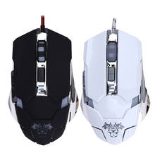 Ultra-precise 4000DPI Adjustable 7 Buttons Pro Gaming Optical Mouse LED Light USB Wired Mouse Gamer Mice for Computer Laptop
