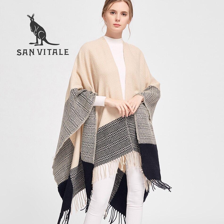 Women Scarves Shawls Winter Warm Scarf Ls