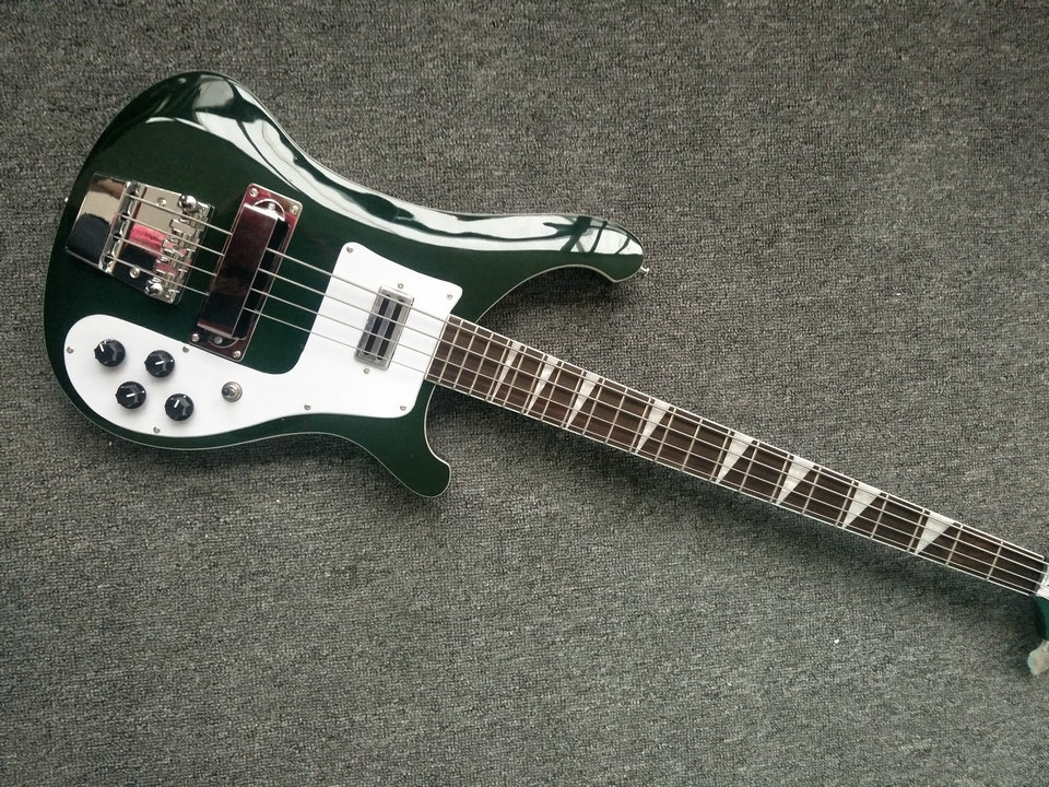 chinese guitars,High quality A variety of color rickenbacker bass guitar,Real photos,free shipping 4 string bass guitar
