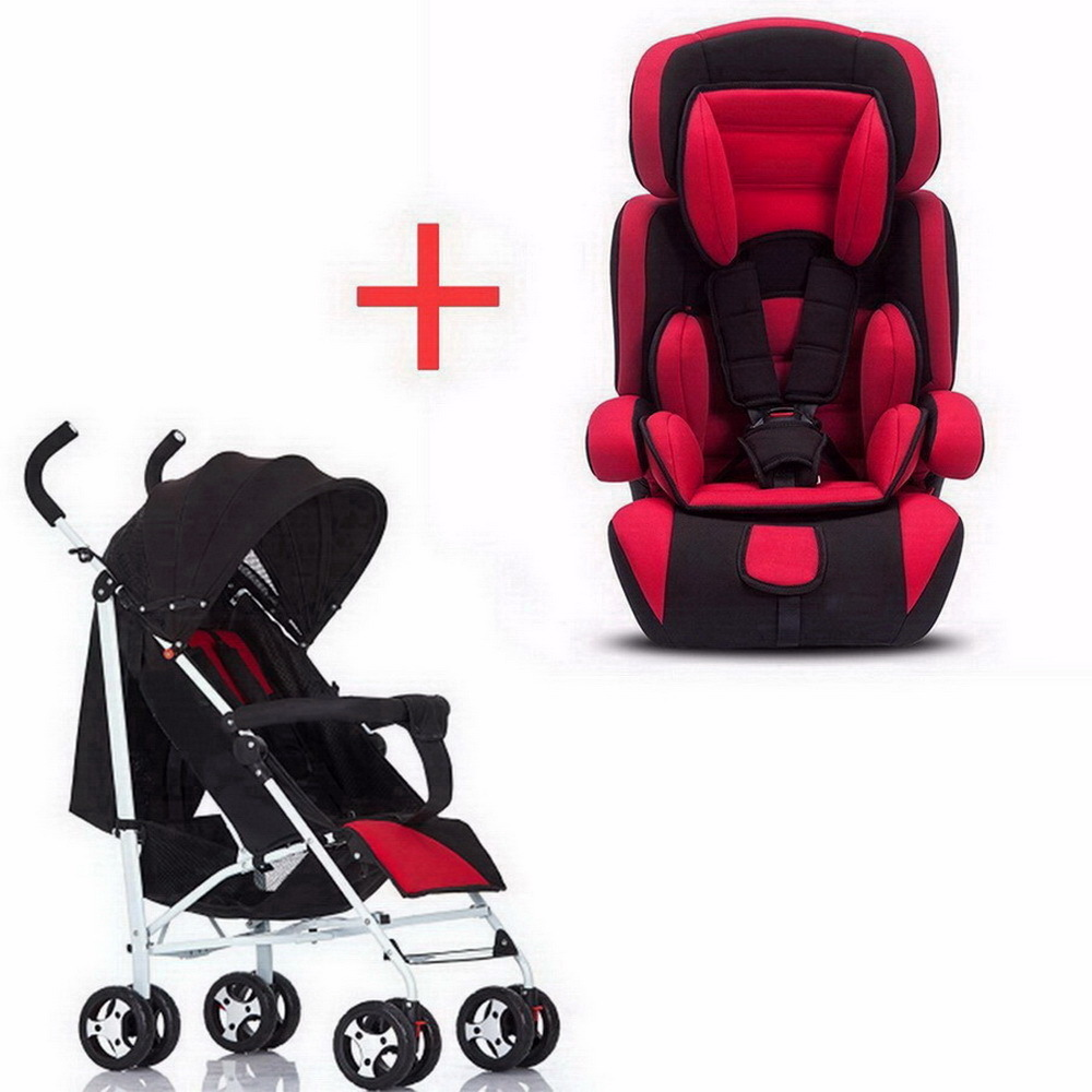 Children's car safety chair foldable 9 months 12 years 9-36 kg baby 3C certification and cart combination set SY-YZ213-5 sweet years sy 6285l 12