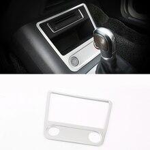 ABS Chrome для Volkswagen VW Tiguan 2009-2015 запуска двигателя автомобиля кнопка остановки панели крышки отделки авто аксессуары для укладки