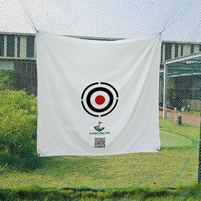 FUNGREEN 1.5x1.5M Golf Hitting Target Cloth For Golf Practice Durable Indoor Training Outdoor Court Hitting Cloth Golf Accessory