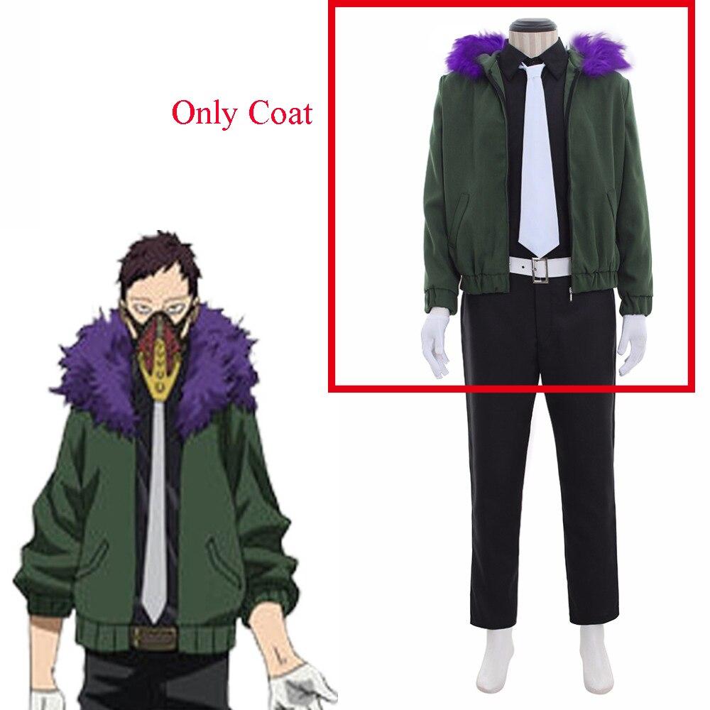 Cosplaydiy Custom Made Boku no Hero Cosplay Costume My Hero Academia Kai Chisaki Top Jacket Coat Costume L320