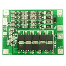 4S 40A Li-ion Lithium Battery 18650 Charger PCB BMS Protection Board with Balance For Drill Motor 16.8V Lipo Cell Module New 4s 30a 12v li ion lithium 18650 battery bms pcb protection balance board for lifepo4 life integrated circuits electronic module
