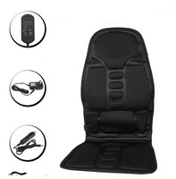 Neck Back Massage Heat Cushion Home Car Magnetic Field Lumbar Heat Vibrate Cushion Neck Massage Chair