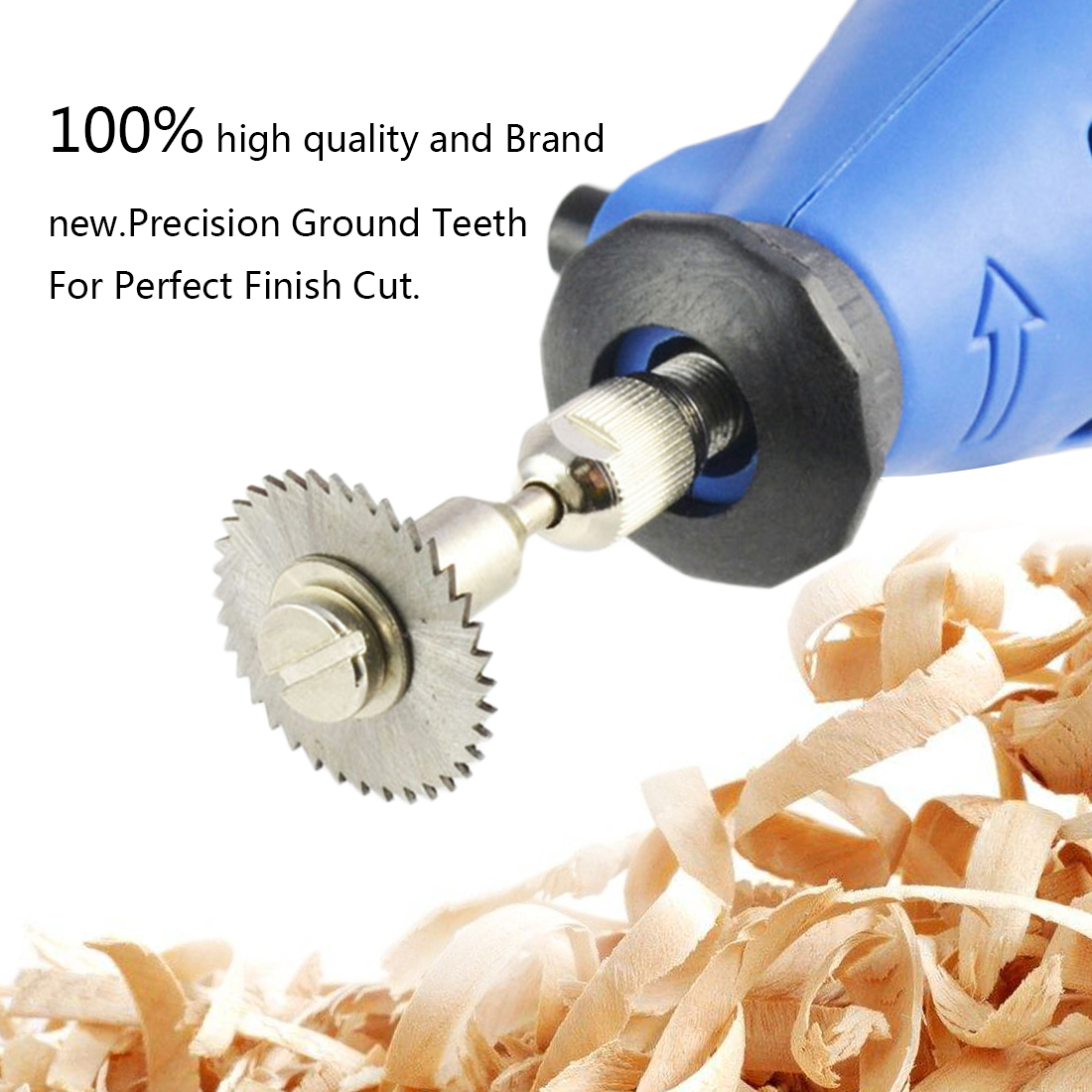 Image 5 - Drill Dremel Accessories HSS 1PC Mini Circular Saw Blades Power Tools Wood Cutting Disc Grinding Wheel Set for Rotary Tools-in Saw Blades from Tools