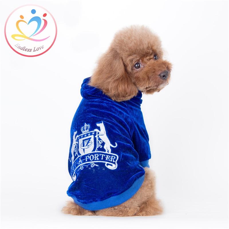 New Arrivals XS XL winter Autumn Puppy Dog font b Clothes b font Vestidos font b