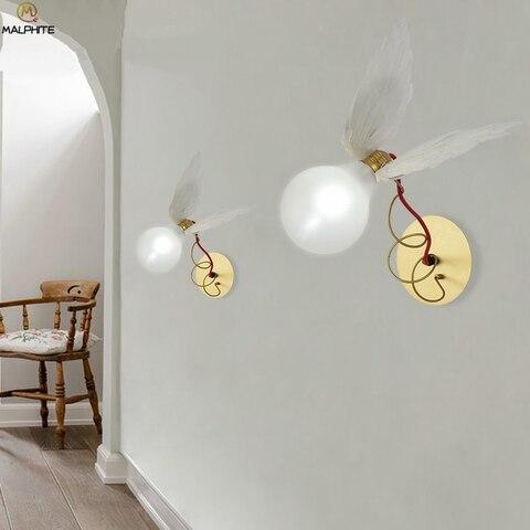 led fio cobre enrolamento ajustavel luz parede