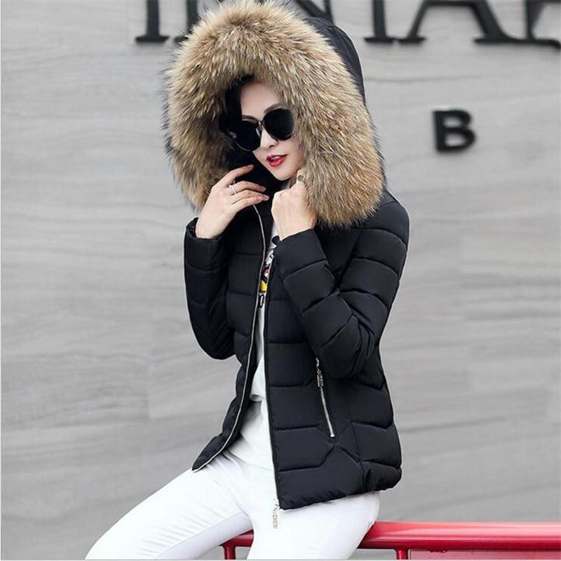 Épaississement À Black D'hiver veste Rembourré Décontractée Femmes blue Fit Capuchon La Haute white pink Coton De Qualité Slim Manteaux Chaud red Vêtements femmes Mode 2018 gray dYawCxqq