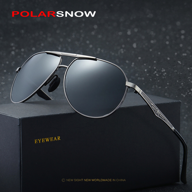 POLARSNOW Classic Brand Mens Polarized Sunglasses 2017 Fashion Design Men Women Driving Sun Glasses Goggle Outdoor Eyewear