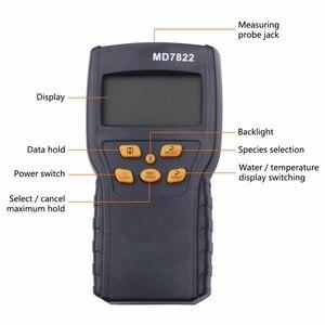 Image 5 - مقياس رطوبة الحبوب الرقمي MD7822 مقياس حرارة الطعام الرطوبة محلل الرطوبة كاشف الرطوبة الماء