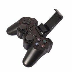 Bezprzewodowy pad do gier telefon komórkowy kontroler do gier PC joystick dla PS3 TV Box Joystick 2.4G kontroler do gry joypad pilot zdalnego|joystick for ps3|joystick for pcjoystick joysticks -
