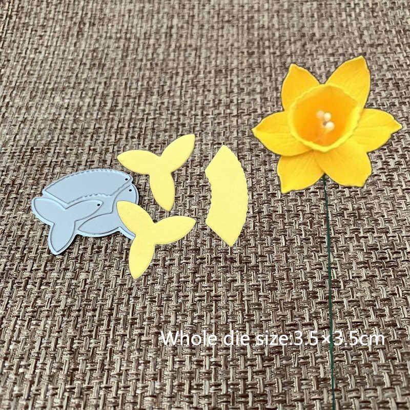 ออกแบบใหม่โลหะตัด Die ใหม่ดอกไม้ Scrapbooking Album กระดาษการ์ด DIY Craft Embossing Die ตัด