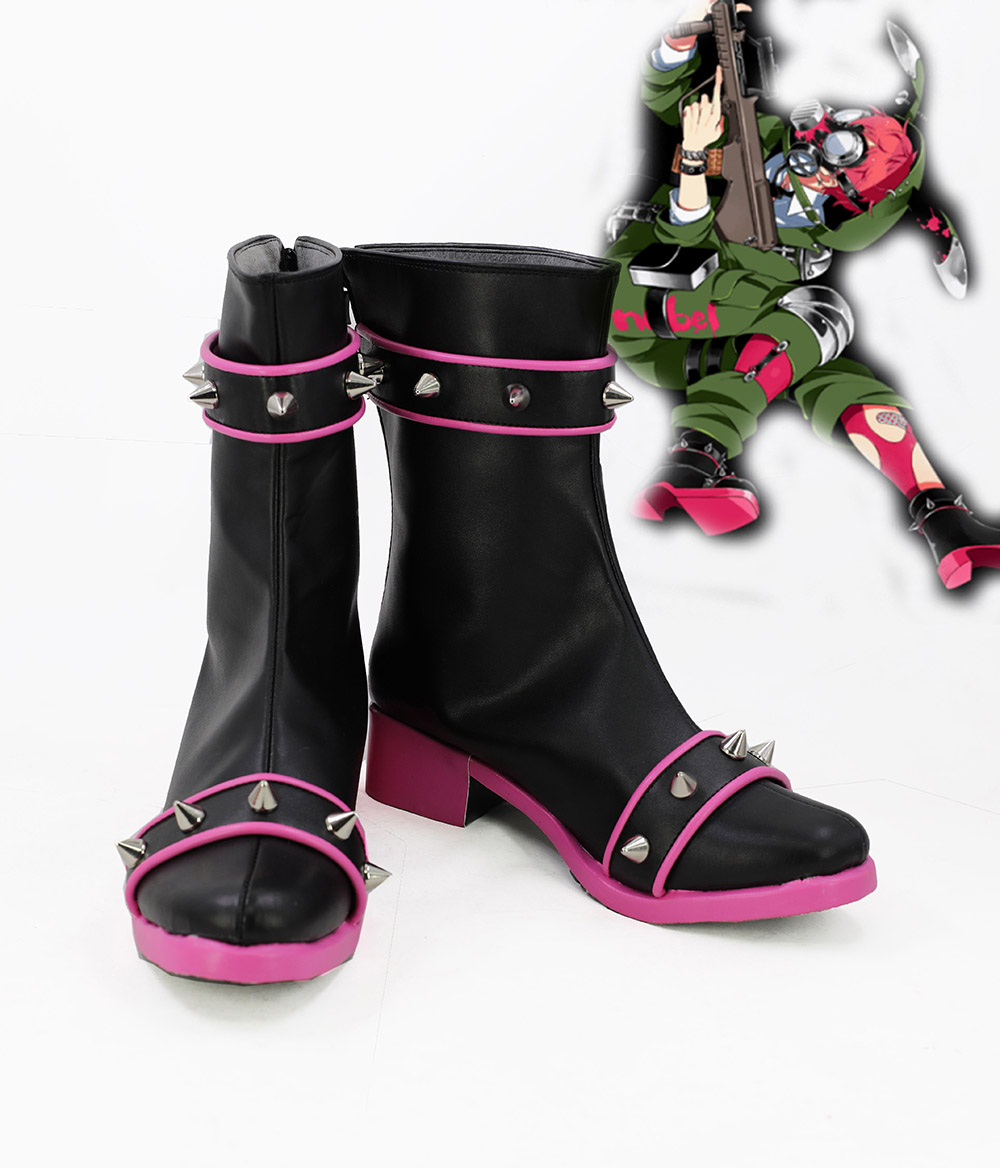Game Senjuushi Cosplay Boots Shoes Custom Made Party ...