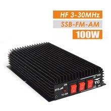 Amateur CB Radio HF Amplificateur de Puissance HF Émetteur-Récepteur Pour Ham Radio Talkie Walkie FM + SSB + CW + SUIS livraison Gratuite