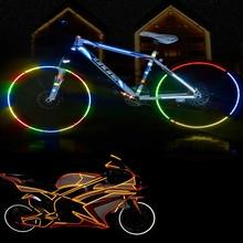 Bicycle reflective stickers mountain bike accessories lumino