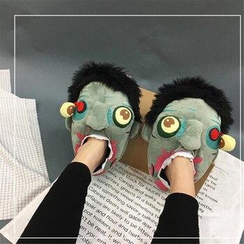 Тапочки Зомби Ход�чие мертвецы