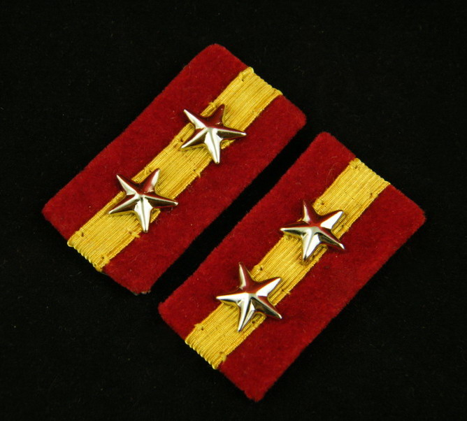 WWII IMPERIAL JAPANESE ARMY VICE SQUADRON LEADER COLLAR TABS -35394