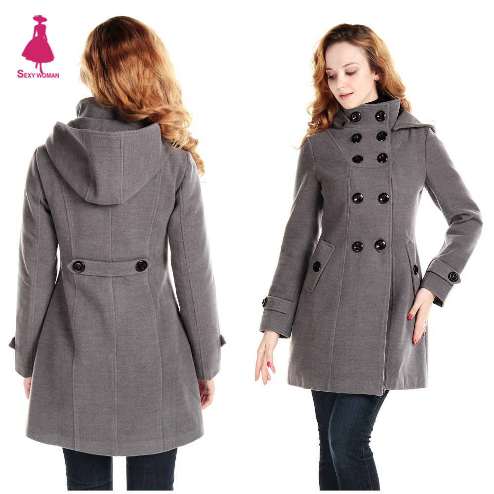 Hooded Womens Pea Coat - All The Best Coat In 2017