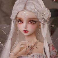 New arrival BJD SD 1/3 AS Hua Rong 62cm fairy girl Free Eye Balls Fashion Shop