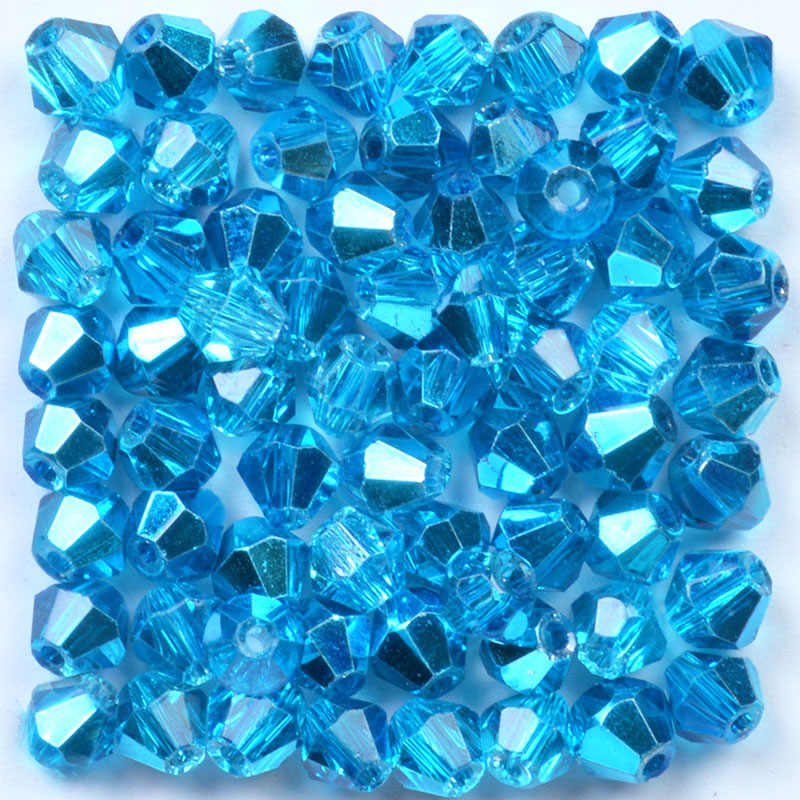 500pcs 4mm Bicone Crystal Glass Loose Beads DIY Jewelry Bracelet Findings Charm#