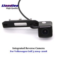 Liandlee For Volkswagen VW Golf 5 2004~2008 Car Reverse Parking Camera Backup Rear View Camera / SONY CCD Integrated Nigh Vision liandlee for audi rs6 2008 2009 car rear view backup parking camera rearview reverse camera sony ccd hd integrated nigh vision