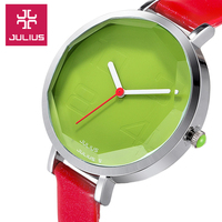 2016 Hot Famous Brand Watches JULIUS Luxury Vintage Women S Watch Wristwatches Quartz Watch Round Waterproof