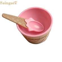 My House Best New Created New 1 x ice cream bowl with a beautiful pastel colors Shipping Aug16(China)