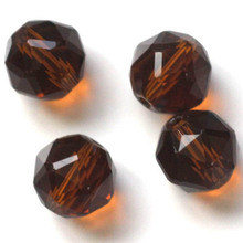 100pcs/lot 6mm 8mm 10mm 12Colors 84fa Decorative Crystal Bead Wholesale Jewelry Making Cloth Accessory Loose Beads DIY