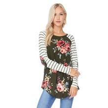 Hosszú ujjú tavaszi őszi téli szülinapi ruhák Top Printing Causual pólók a terhes nők számára Terhességi póló Új B0353