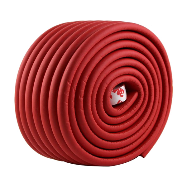 2m Baby Child Kids Table Desk Furniture Edge Corner Safety Guard Protection Security Protector Wide Cushion Pad p(red)