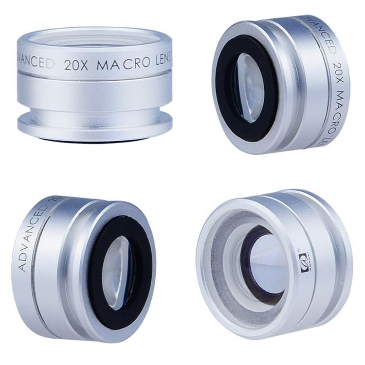 Universal Lente 20X Zoom Makroobjektiv Handyobjektiv Kameraobjektiv - Handy-Zubehör und Ersatzteile