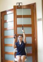 Stainless Steel Upper Limb Rehabilitation Trarining Equipment Stroke Hemiplegia Shoulder Joint Trainer Pulley Rings