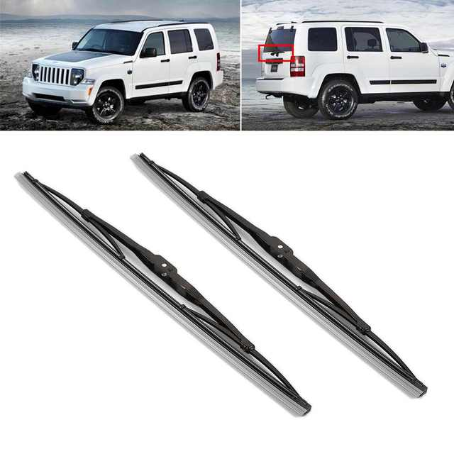 11inch car rear wiper blader set black for jeep liberty patriot