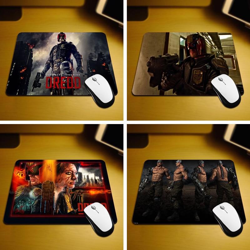 MaiYaCa Dredd 3D 2012 Nuova dimensione Mouse Pad Pad in gomma 18 * 22 cm e 25 * 29 cm